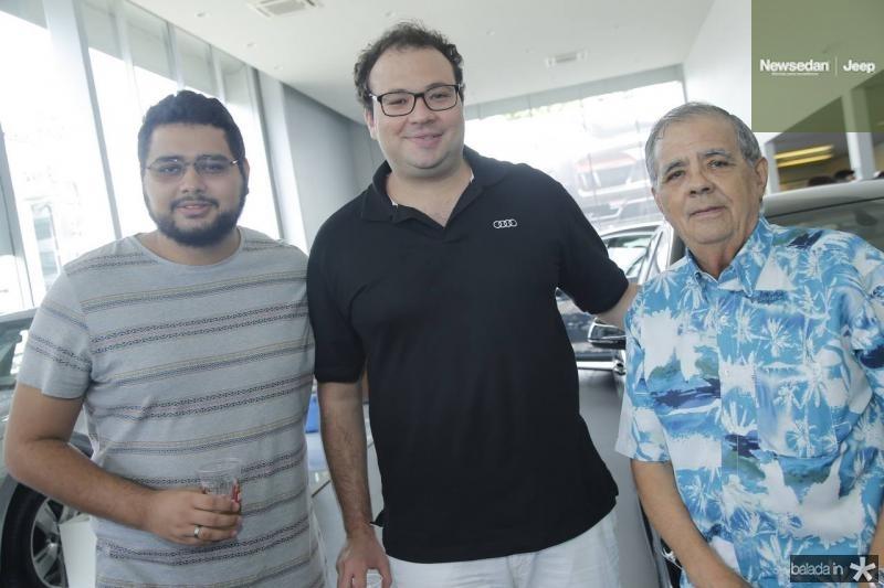 Felipe Santana, Thiago Facanha e Maninho Brigido
