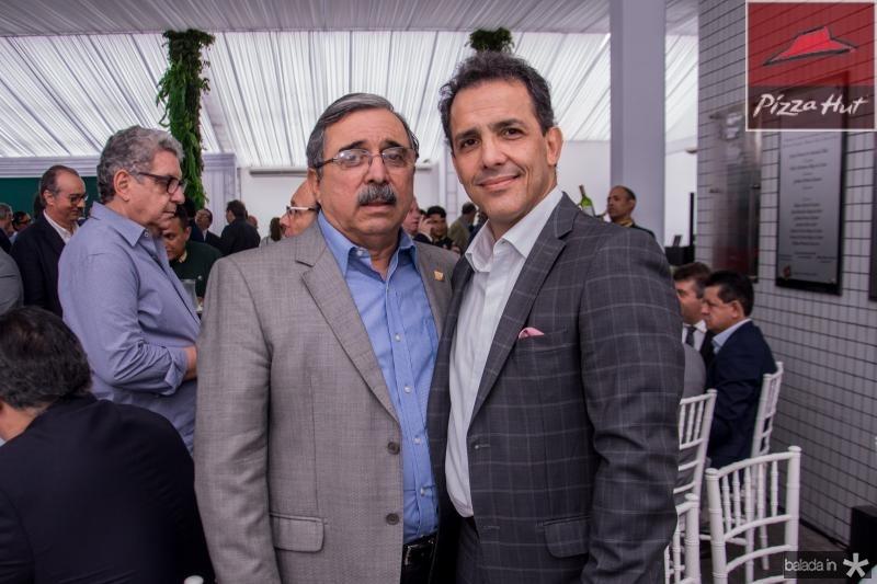 Roberto Sergio e Raul Amaral