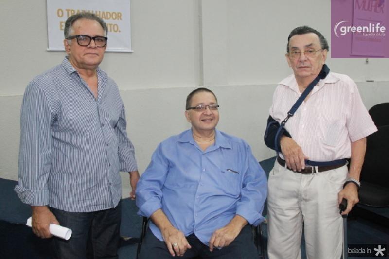 Guilermando Chaves, Pinheiro Junior e Pedro Casimiro