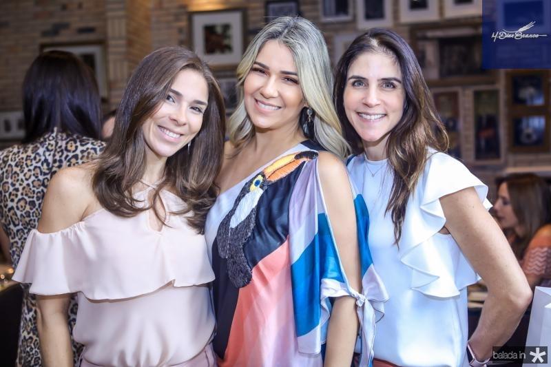 Delfina Pontes, Jeritza Gurgel e Raquel Juca