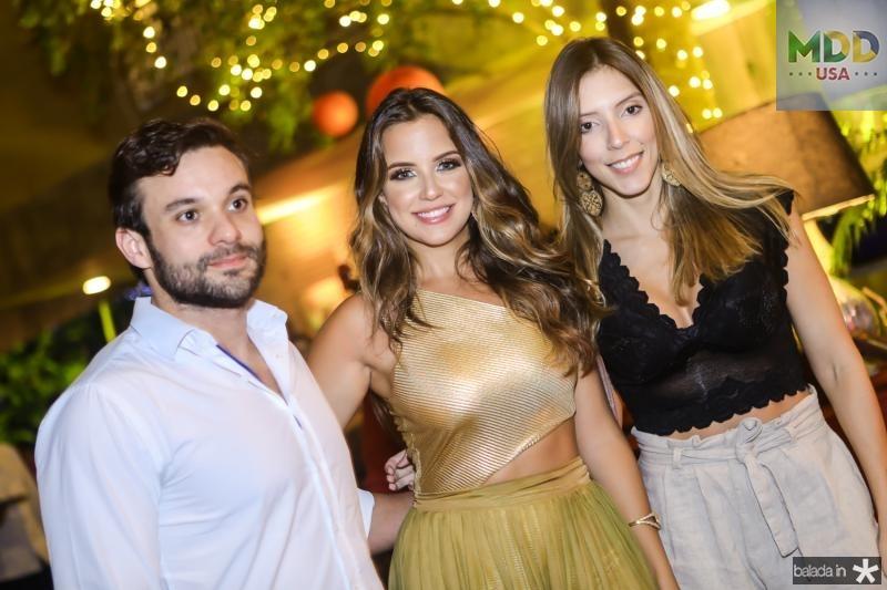 Emanoel Gurgel, Fernanda Levy e Raiane Maranhao