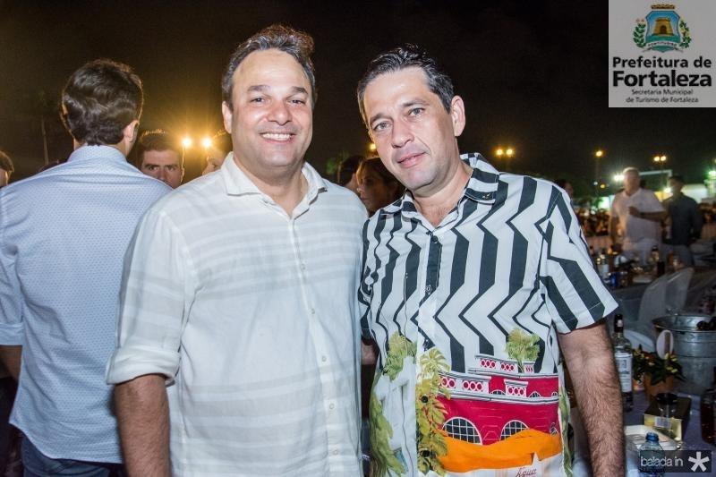 Enio Cabral e Andre Camurca