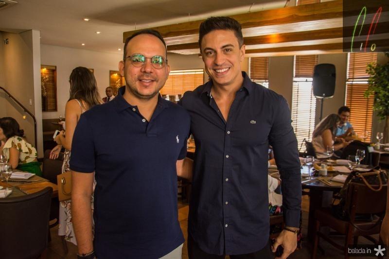 Daniel Meireles e Flavio Ribeiro