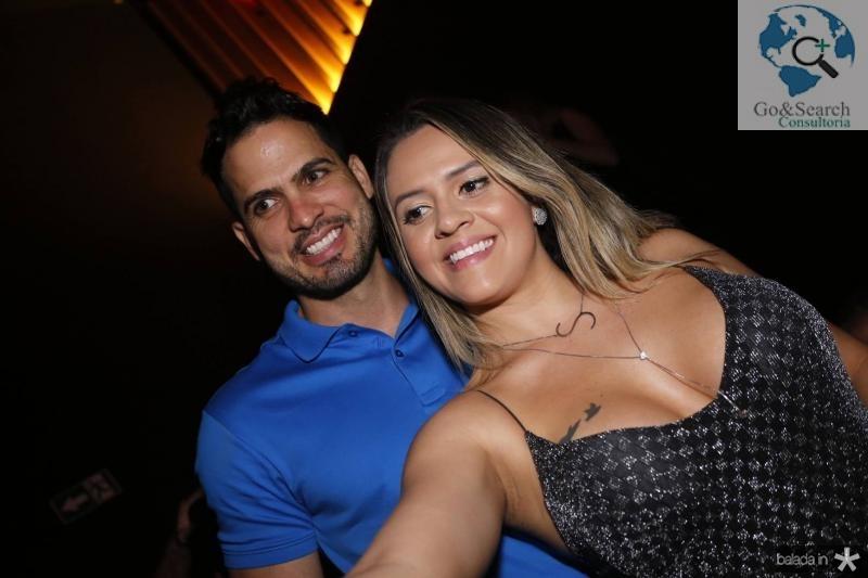 Jeferson Menezes e Samantha Lemos