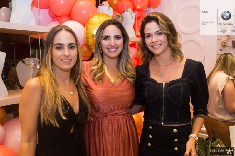 Patricia Pessoa, Mariana Queiroz e Carol Gurgel