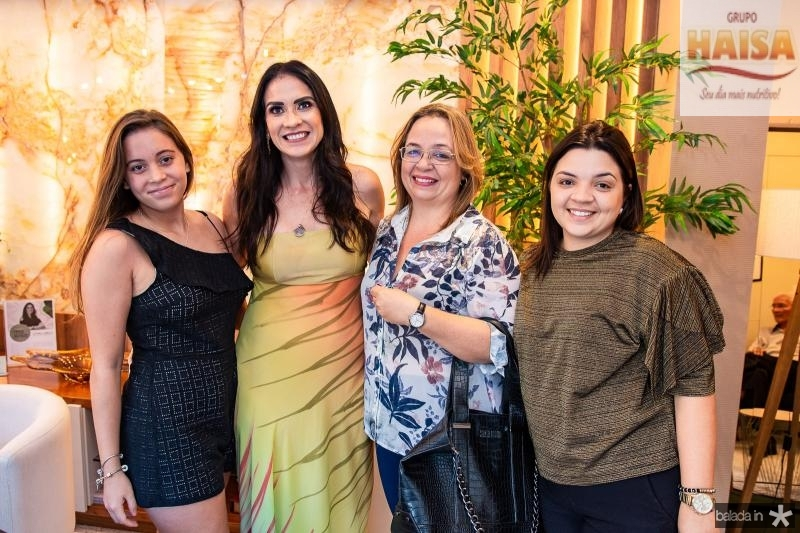 Ana Amelia, Luciana Carioca, Regina Helena e Livia Catunda