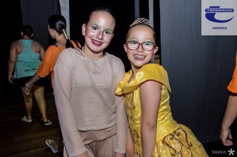 Mariah Rego e Larissa Dantas