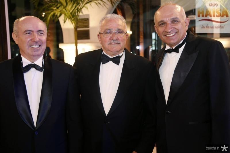 Amarilio Cavalcante, Alcimor Rocha e Licinio Correa 2