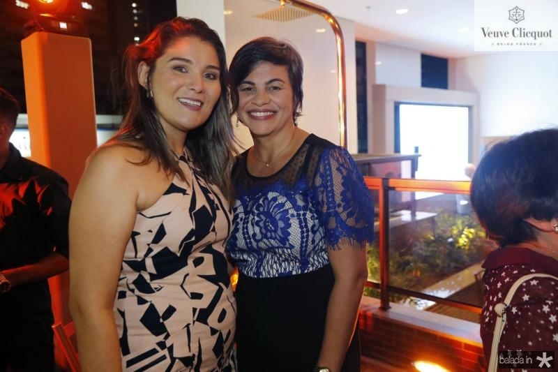Arine Gomes e Arlete Viana