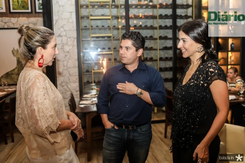 Carol Quintero, Pompeu Vasconcelos e Alice Ferraz