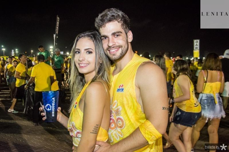 Flavia Freire e Lucas Batista