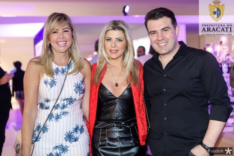 Patricia Dias, Iris Stefanelle e Danilo Dias