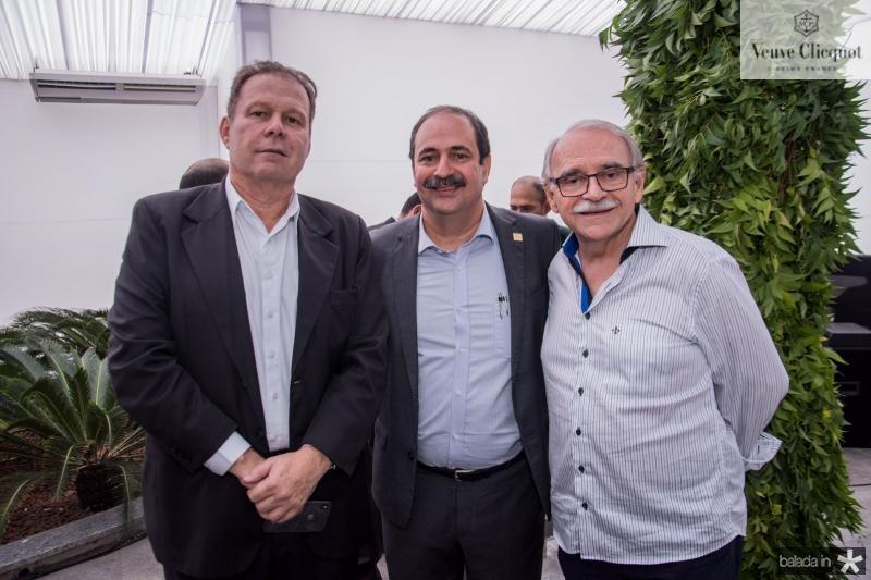 Julio Ventura, Paulo Andre Holanda e Ednilton Soarez