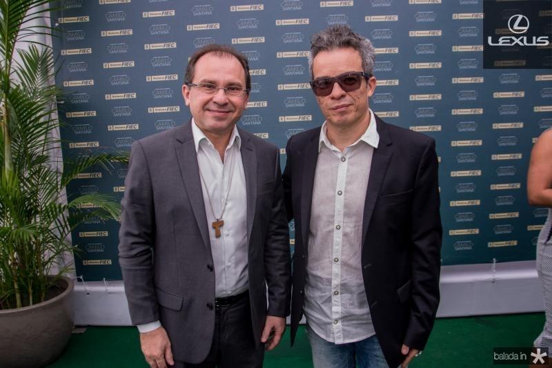 Carlos Matos e Fabiano Piuba