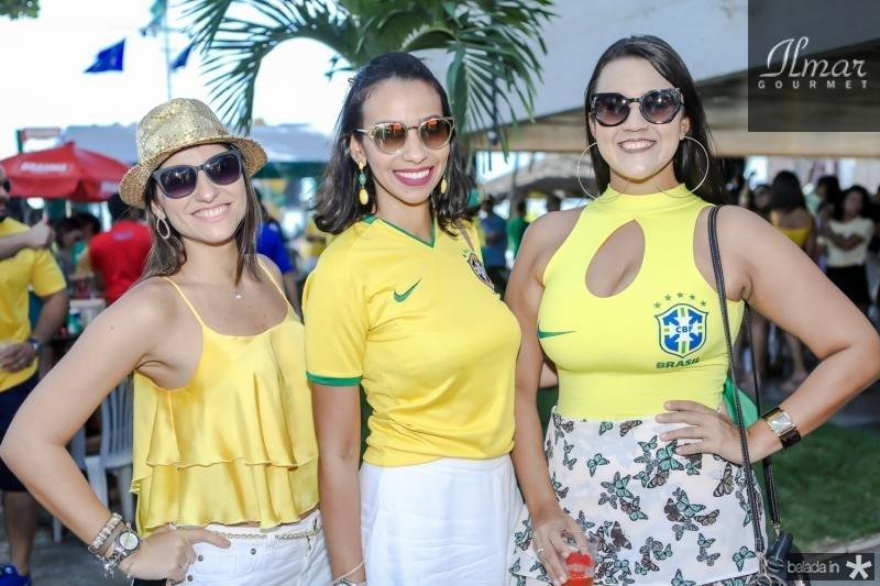 Renata Duque, Mariana Moreira e Luana Carvalho