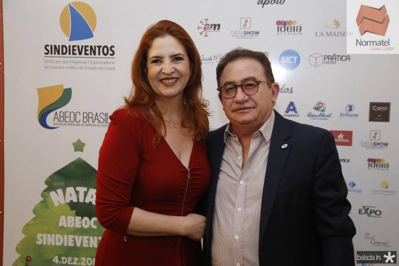 Enid Camara e Manuel Linhares
