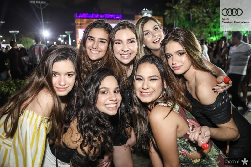 Beatriz Menezes, Livia Araujo, Fabiane Nogueira, Laisa Lara, Raiana Monteiro, Vitoria Costa e Bruna Menezes