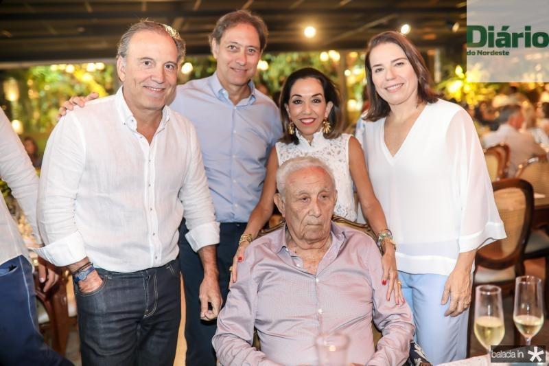 Binho, Sergio, Humberto, Marcia e Denise Bezerra
