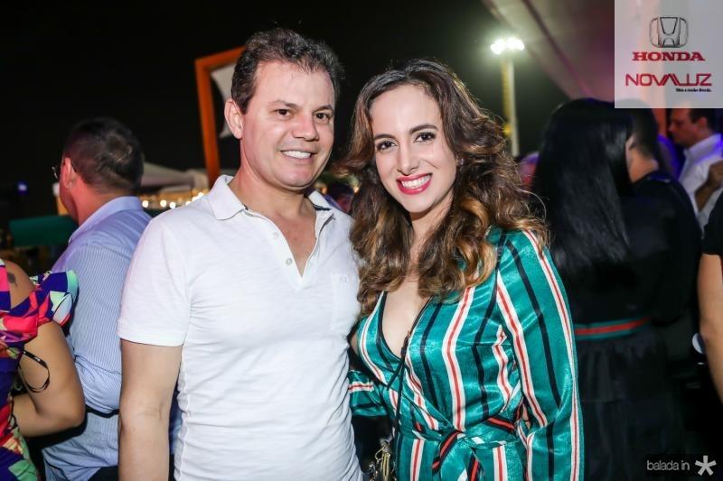 Erasmo Machado e Viviane Torquato