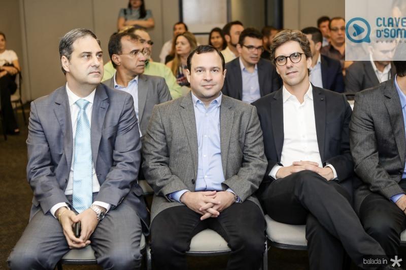 Erinaldo Dantas, Igor Barroso e Ruy do Ceara