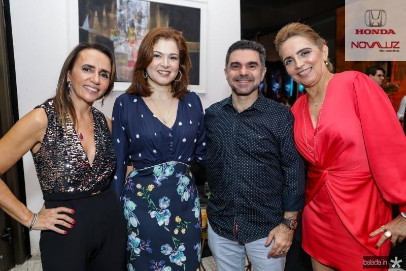 Carla Baide, Sheyla e Isaac Furtado, Antonelia Bezerra