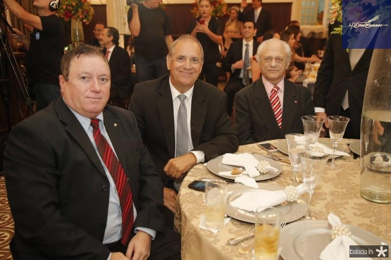 Aurelio Goncalves, Pedro Perez e Jose Rangel