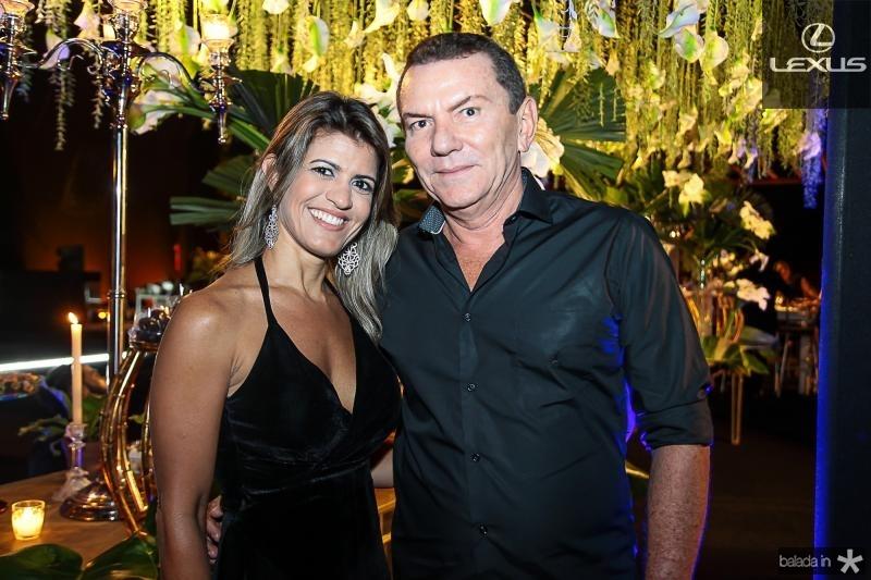 Valeria Gomes e Louro Caucaia