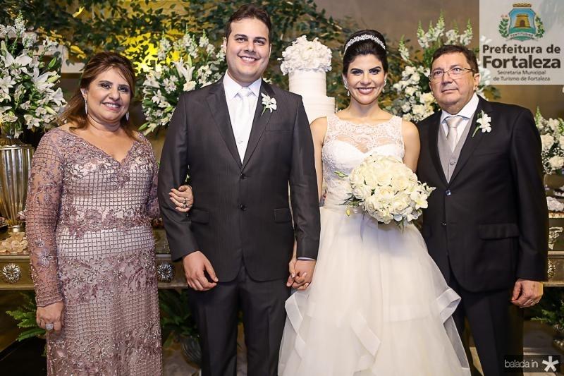 Dulce Aguiar, Daniel Lucena e Milena Leite, Edmilson Aguiar