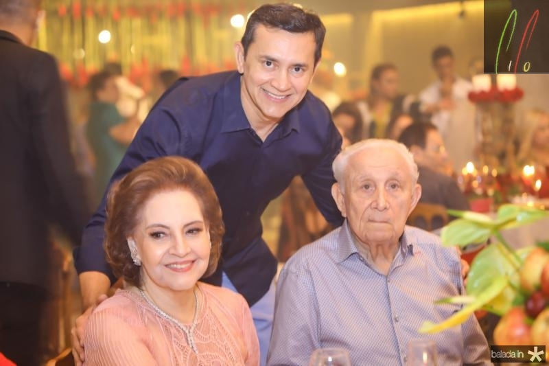 Norma Bezerra, Andrade Mendonça e Humberto Bezerra