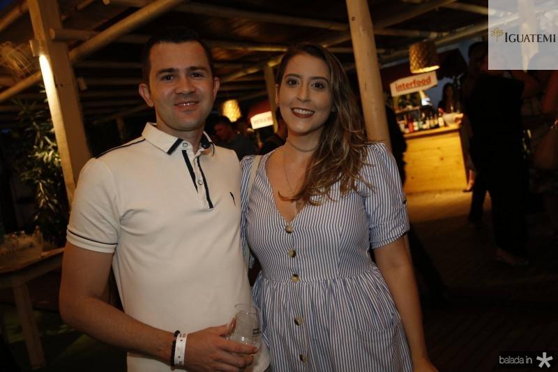 Felipe Barros e Sara Bessa