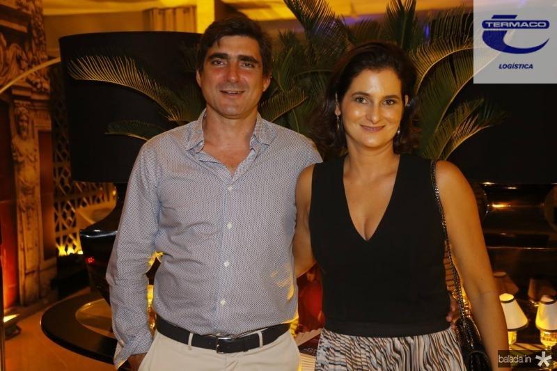 Agostinho Herrera e Cecilia Seligmann