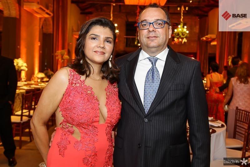 Fernanda e Claudio Mendonça