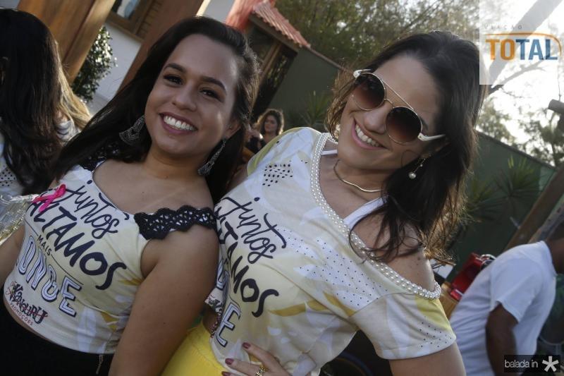 Beatriz Amaral e Gislaine Moura