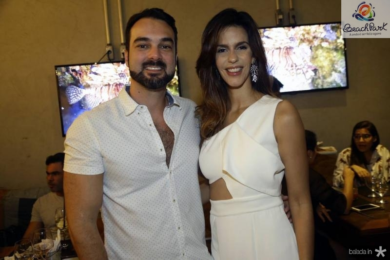 Marcio Pereira e Maira Farias