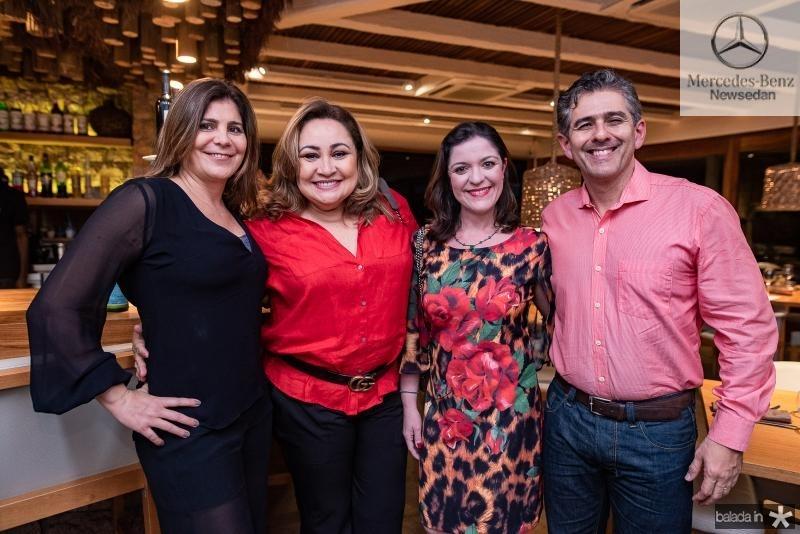 Heloisa Marinho, Ana Marcia Nere, Edice Liz e Erick Fernandes