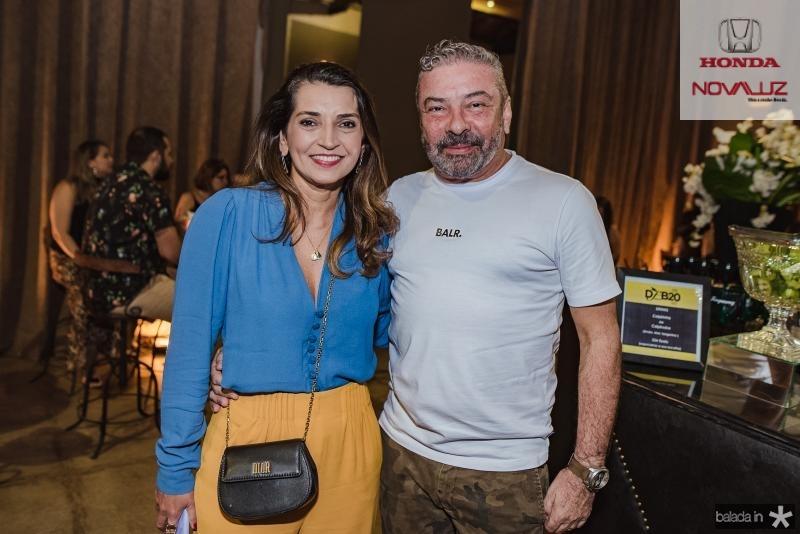 Marcia Travessoni e Claudio Silveira