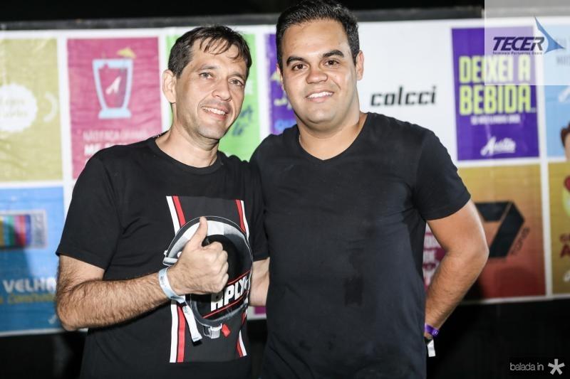 Andre Camurça e Ivo Dias
