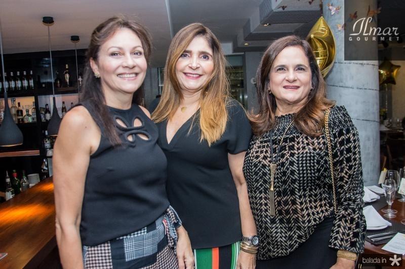 Janice Bezerra, Cristiane Figueiredo e Maria Luzia Bezerra