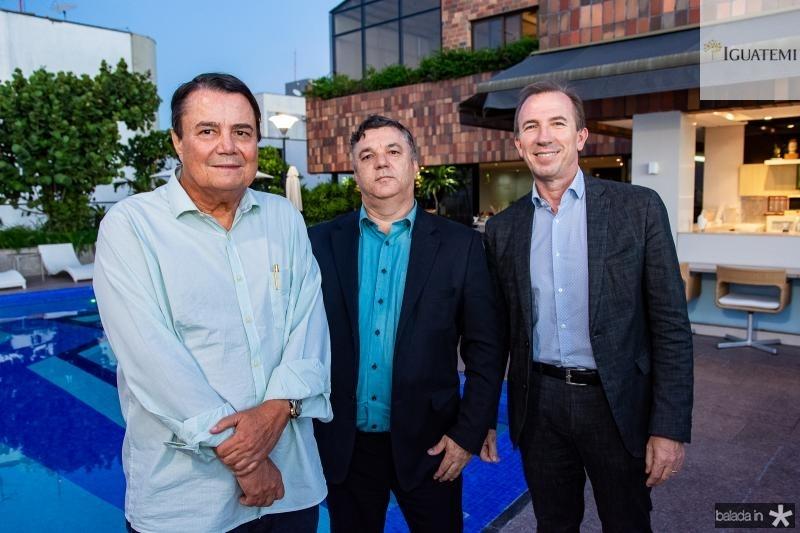 Dionisio Barsi, Paulo Cesar e Philippe Godefroit