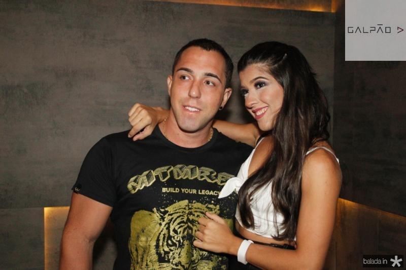 Rafael Guedes e Taina Moreti