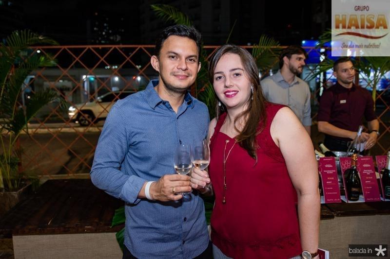 Thiago Leal e Ligia Facundo