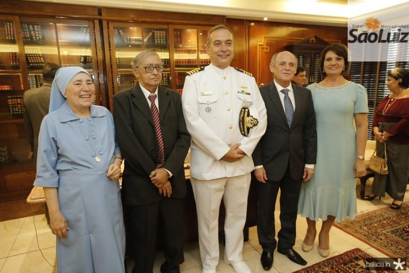 Irmas Conceicao, Jose Ferreira, Comandante Madson Cardoso, Gladyson e Neide Pontes