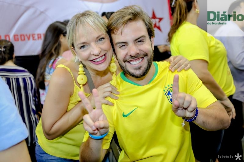 Paola Braga e Claudio Nelson