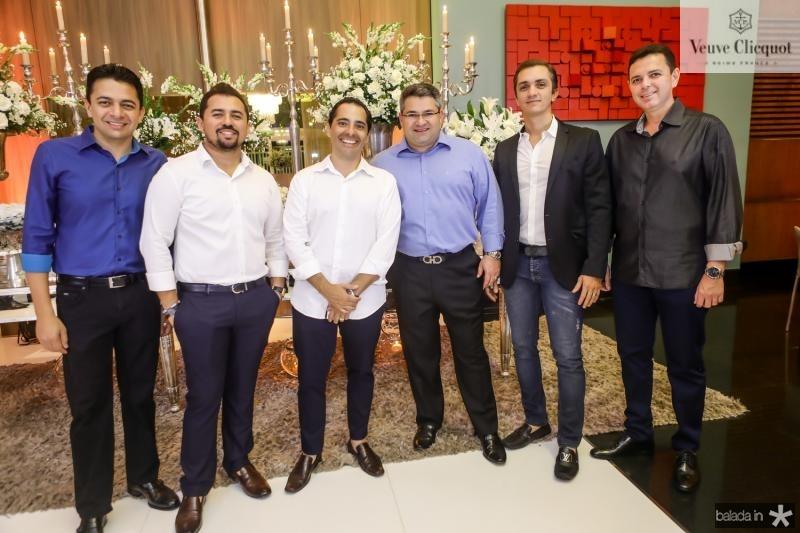 Wilian Bezerra, Xand Aviao, Atila Fernandes, Mario Queiros, Marcelo Marfrutas e Constantino Dias