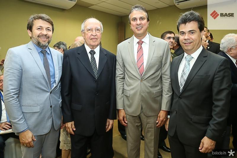 Elcio Batista, Lucio Alcantara, Camilo Santana e Duda Brigido