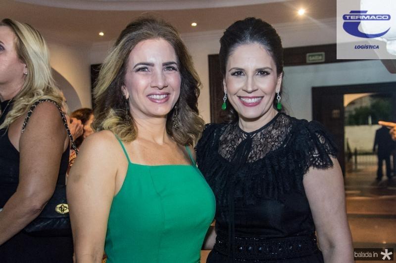 Karmilse Marinho e Fabiola Rocha