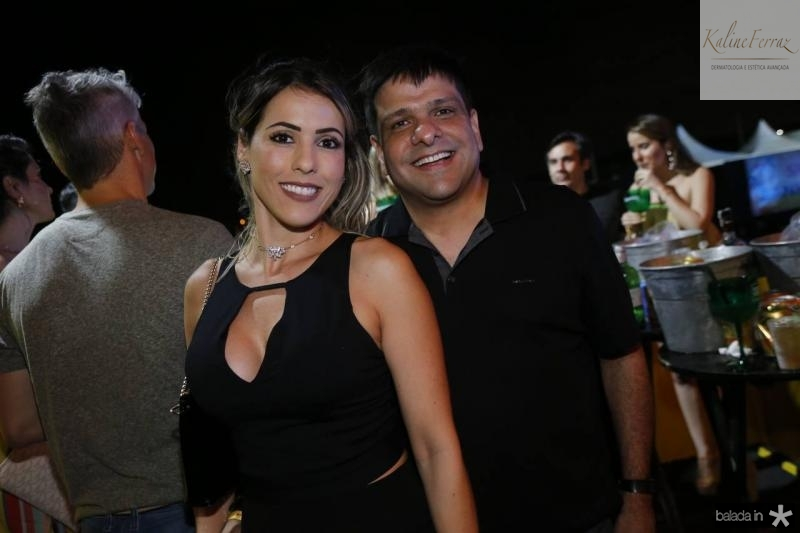 Valeschka Catonho e Duda Soares