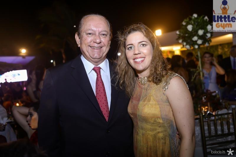 Rafael Leal e Ticiana Rolim