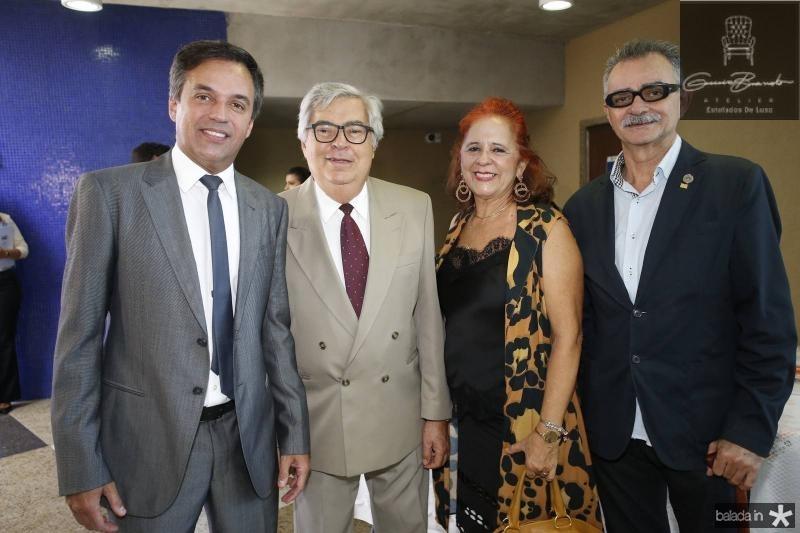 Fernando Novaes, Roberto Farias, Fatima Duarte e Maia Junior