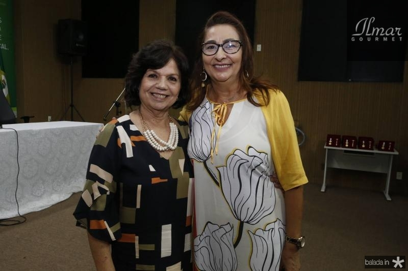 Candida Torres de Melo e Rosa Mendonca